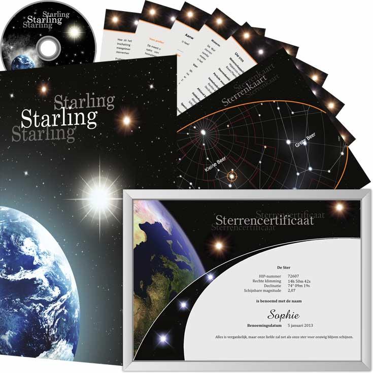 Ster Kopen België Geef Een Ster Als Cadeau Starling